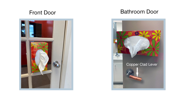 A simple solution to the COVID-19 doorknob dilemma
